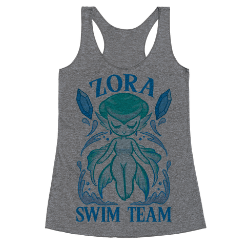 Zora Swim Team Racerback Tank Top