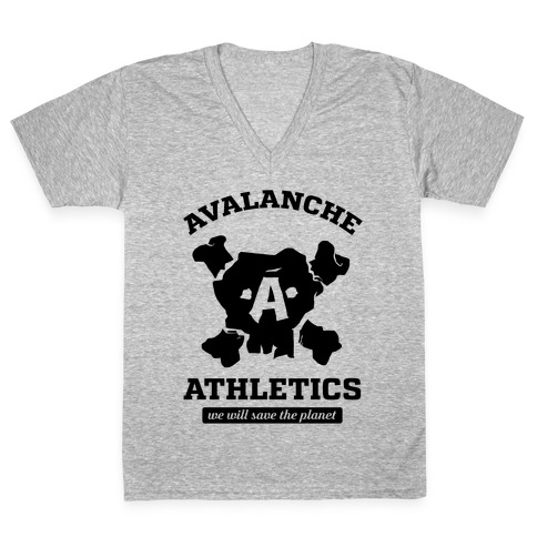 Avalanche Athletics V-Neck Tee Shirt