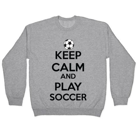 Play Soccer Pullover