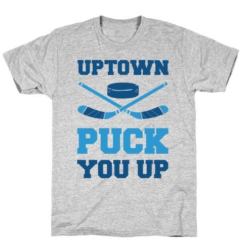 Uptown Puck You Up Mens T-Shirt