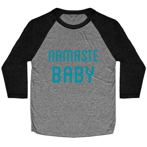 Namaste Baby Baseball Tee