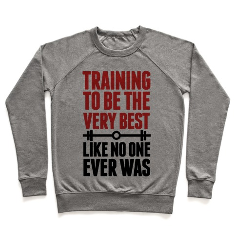Training to be the Very Best Like No One Ever Was Pullover