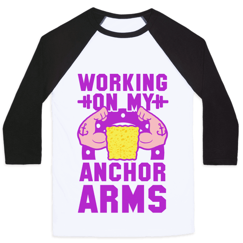 Working on My Anchor Arms Baseball Tee