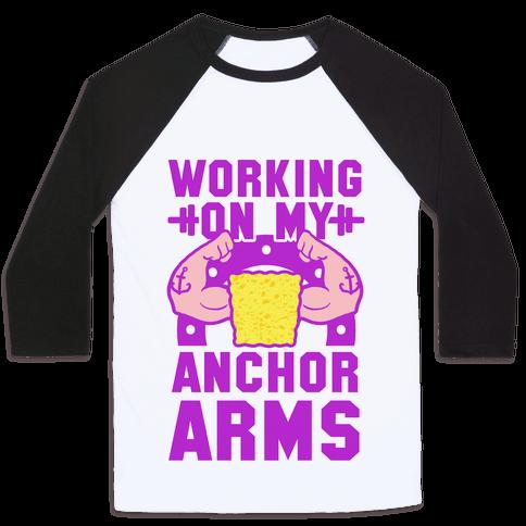 Working on My Anchor Arms Baseball Tee