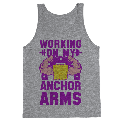 Working on My Anchor Arms Tank Top