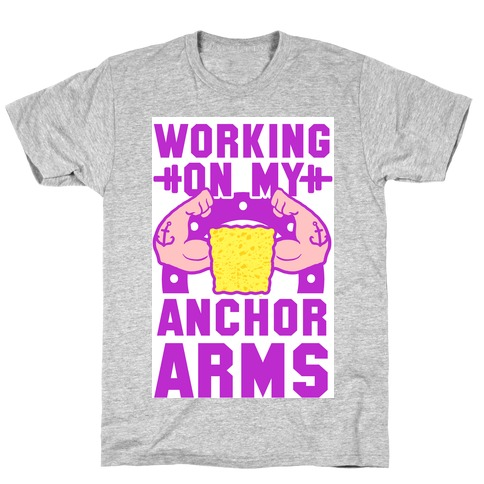 Working on My Anchor Arms T-Shirt