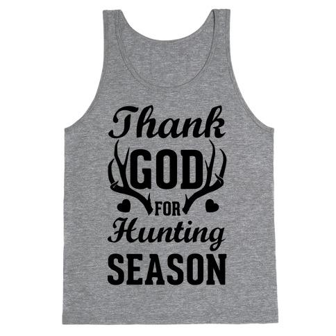 Thank God For Hunting Season Tank Top