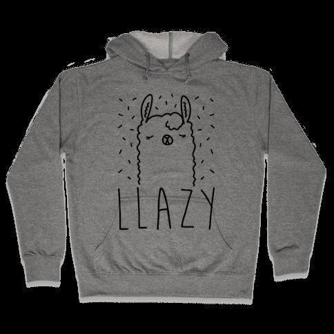 Llazy Llama Hooded Sweatshirt