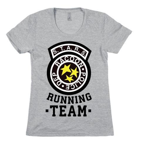 S.t.a.r.s Running team Womens T-Shirt