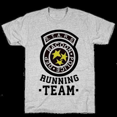 S.t.a.r.s Running team Mens T-Shirt