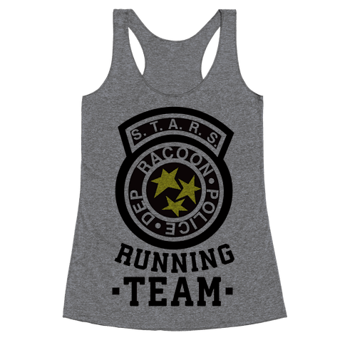 S.t.a.r.s Running team Racerback Tank Top