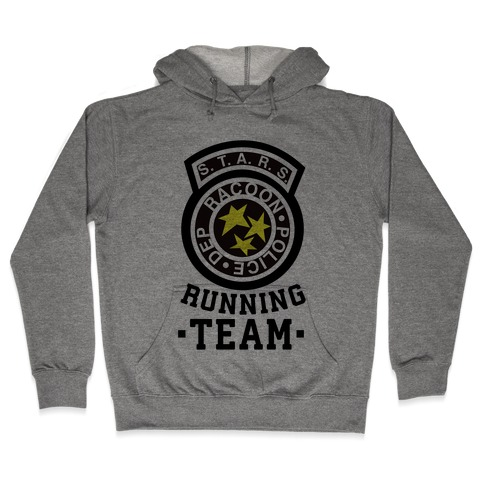 S.t.a.r.s Running team Hooded Sweatshirt