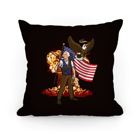 The Immortal George Washington Pillow