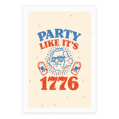 Party Like It's 1776 Poster