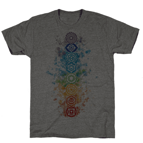Watercolor Chakra Symbols