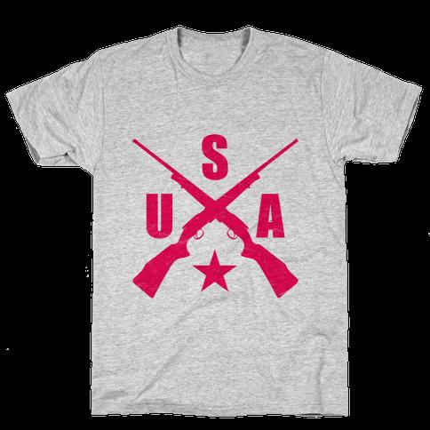 USA Rifles Mens T-Shirt