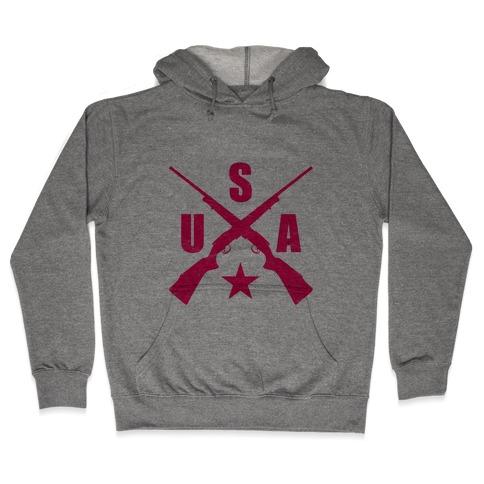 USA Rifles Hooded Sweatshirt