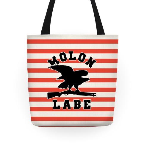 Molon Labe Eagle Tote