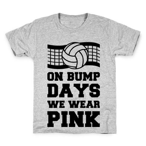 On Bump Days We Wear Pink Kids T-Shirt