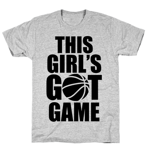 This Girl's Got Game (Basketball) Mens T-Shirt