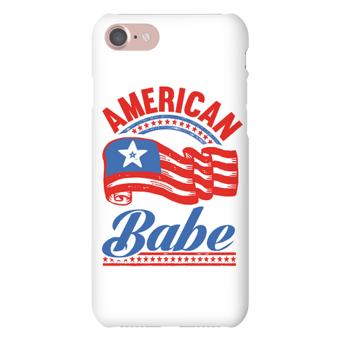 American Babe Phone Case