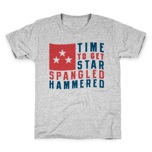 Star Spangled Hammered Kids T-Shirt