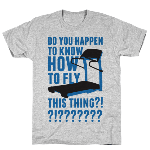 How to Fly This Thing Mens T-Shirt