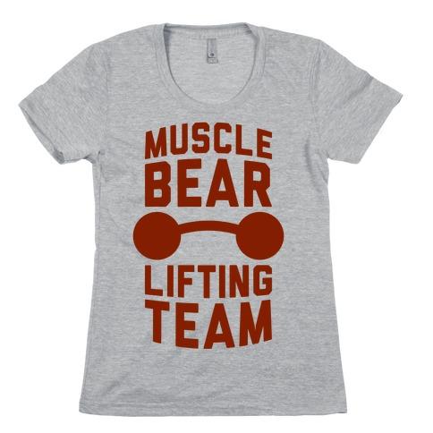 Musclebear Lifting Team Womens T-Shirt