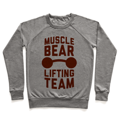 Musclebear Lifting Team Pullover
