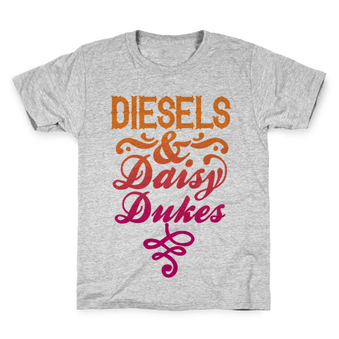 Diesels And Daisy Dukes Kids T-Shirt