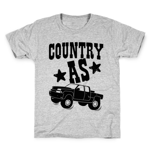 Country as Truck Kids T-Shirt