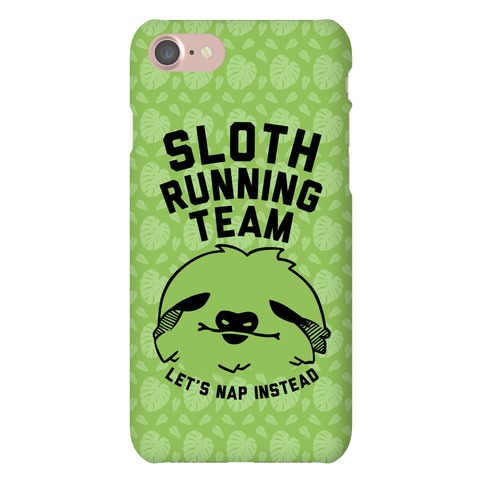 Sloth Running Team Phone Case