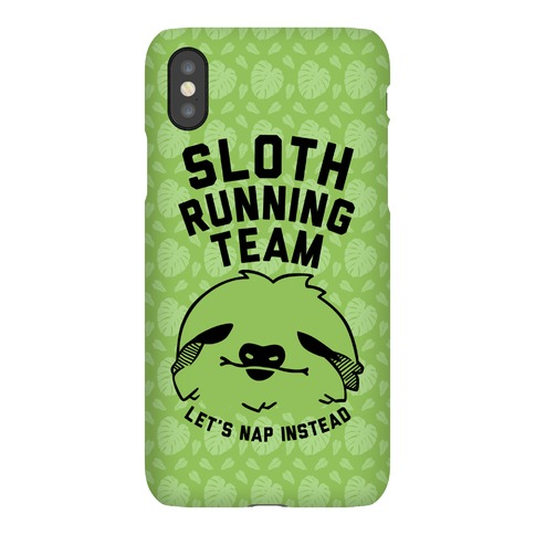 Sloth Running Team Phone Case