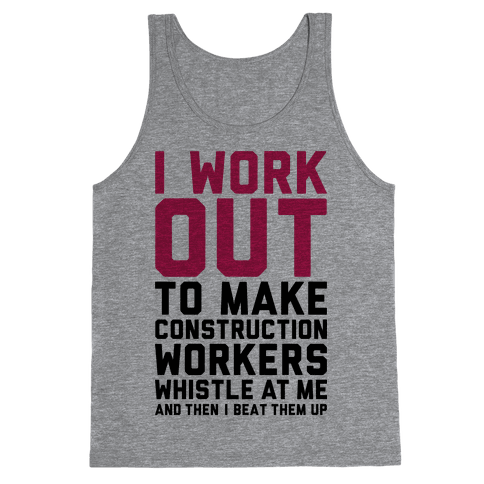 Construction Workers Tank Top