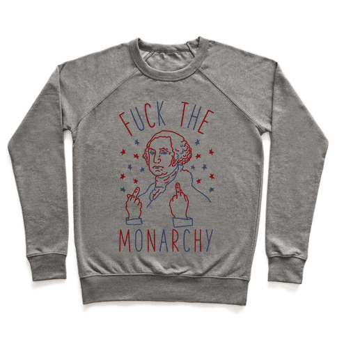 F*** The Monarchy Pullover