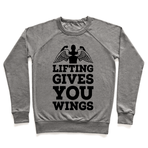 Lifting Gives You Wings Pullover