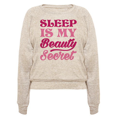 Sleep Is My Beauty Secret