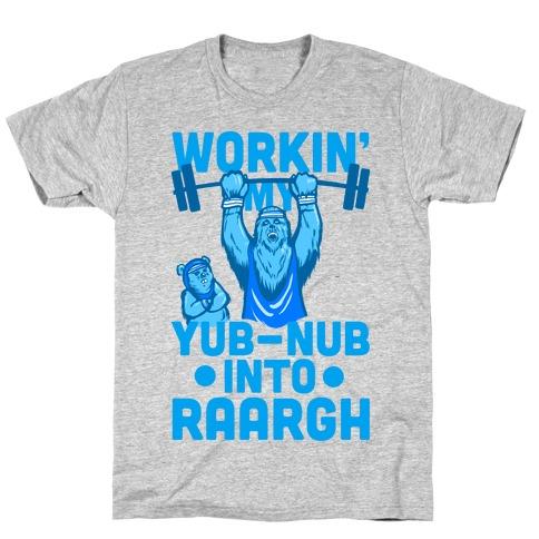 Working my Yub-Nub Into RAARGH T-Shirt