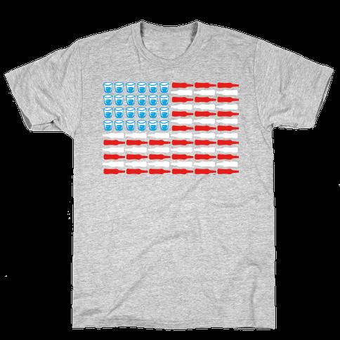 United Drinks of America Mens T-Shirt