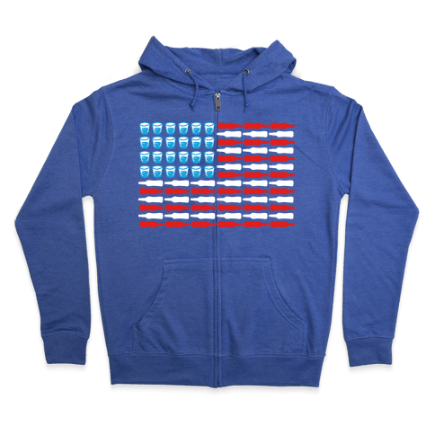 United Drinks of America Zip Hoodie