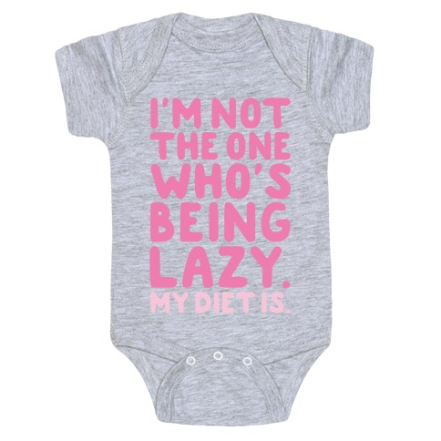 Lazy Diet Baby Onesy
