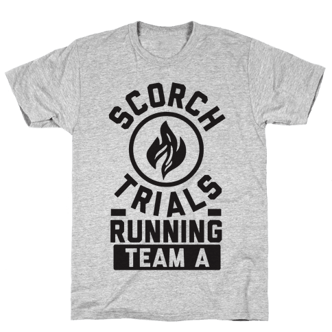 Scorch Trials Running Team A Mens T-Shirt