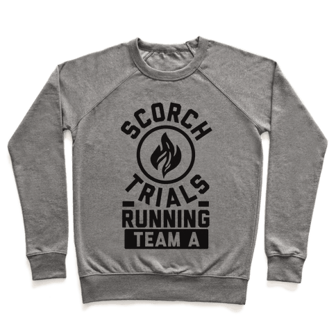 Scorch Trials Running Team A Pullover
