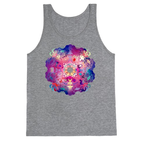 Colorful Yoga Tee Tank Top