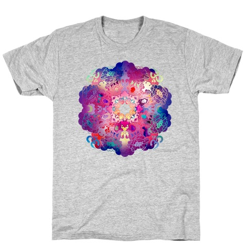 Colorful Yoga Tee T-Shirt