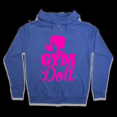 Gym Doll Zip Hoodie