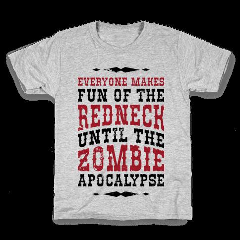 Redneck Zombie Killer Kids T-Shirt