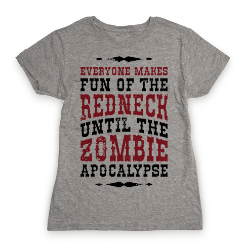 Redneck Zombie Killer Womens T-Shirt