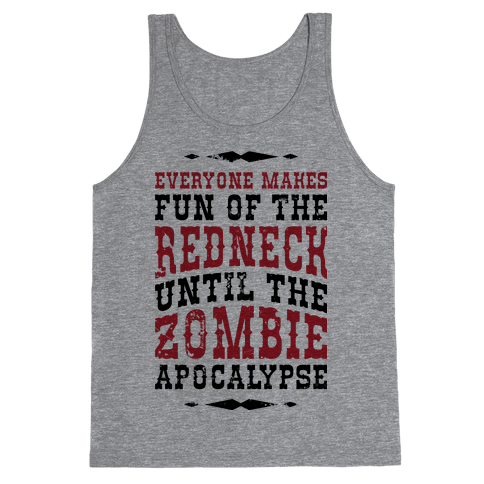 Redneck Zombie Killer Tank Top