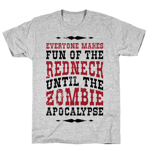 Redneck Zombie Killer Mens T-Shirt